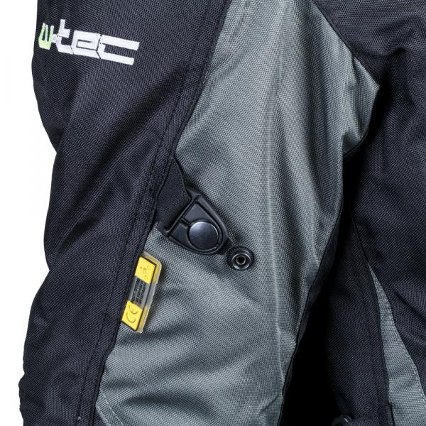 Geaca Moto Barbati cu Pachet Hidratare W-TEC Tasgaid NF-2219 - Negru/Khaki [7]