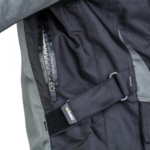 Geaca Moto Barbati cu Pachet Hidratare W-TEC Tasgaid NF-2219 - Negru/Khaki [9]
