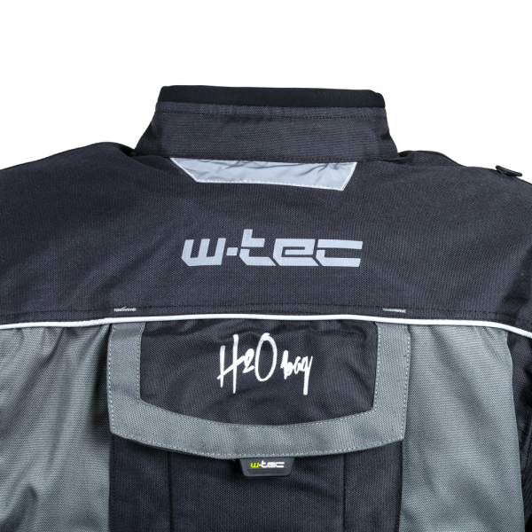 Geaca Moto Barbati cu Pachet Hidratare W-TEC Tasgaid NF-2219 - Negru/Khaki [12]