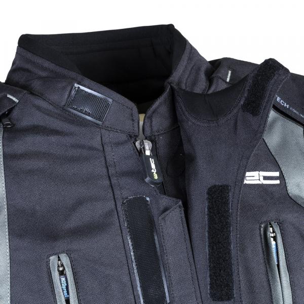 Geaca Moto Barbati cu Pachet Hidratare W-TEC Tasgaid NF-2219 - Negru/Khaki [4]