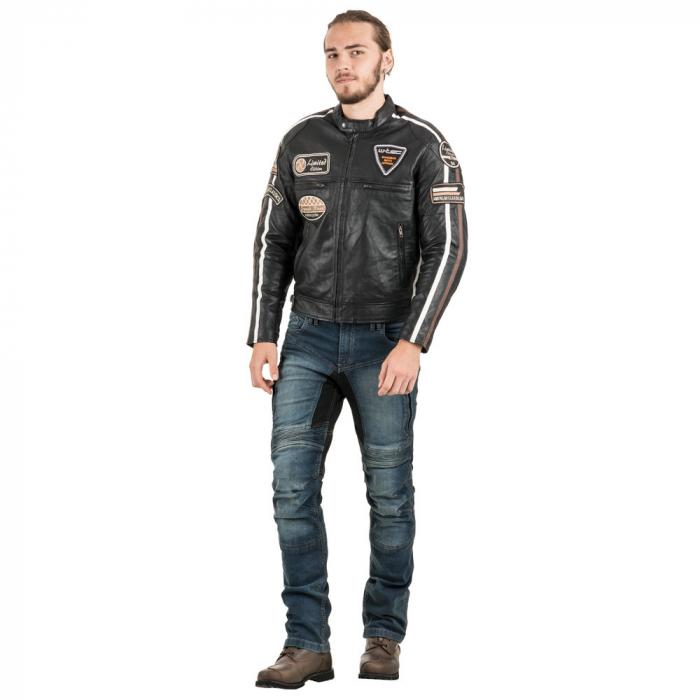 Geaca Moto Barbati Piele W-TEC Sheawen [5]