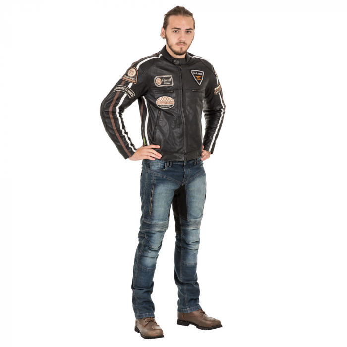 Geaca Moto Barbati Piele W-TEC Sheawen [3]