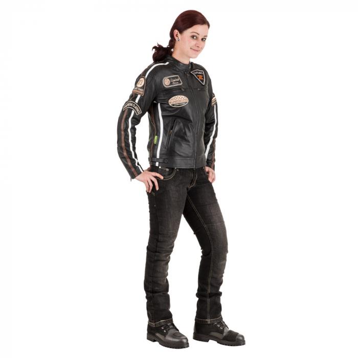 Geaca Moto Femei Piele W-TEC Sheawen [1]