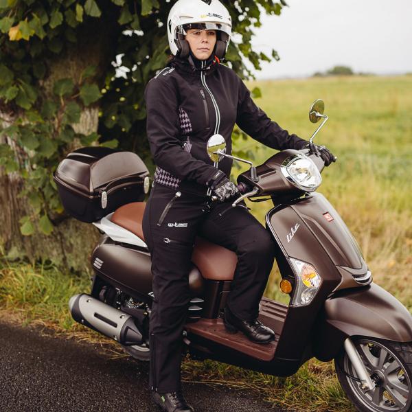 Geaca Moto Femei Softshell W-TEC Pestalozza NF-2781 [10]