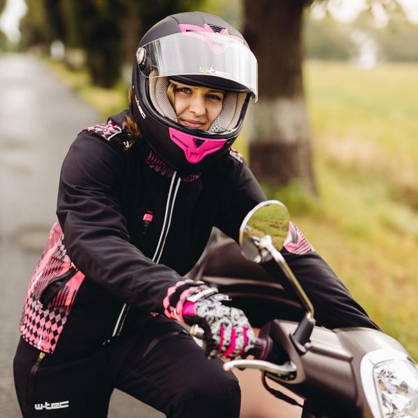 Geaca Moto Femei Softshell W-TEC Pestalozza NF-2781 [6]