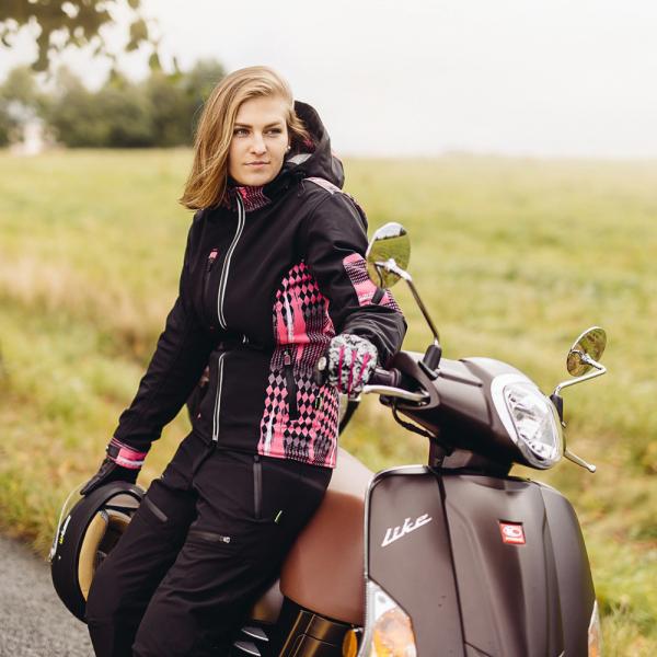 Geaca Moto Femei Softshell W-TEC Pestalozza NF-2781 [9]