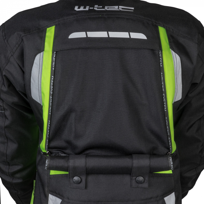 Geaca Moto W-TEC Gelnair - Negru/Verde [8]