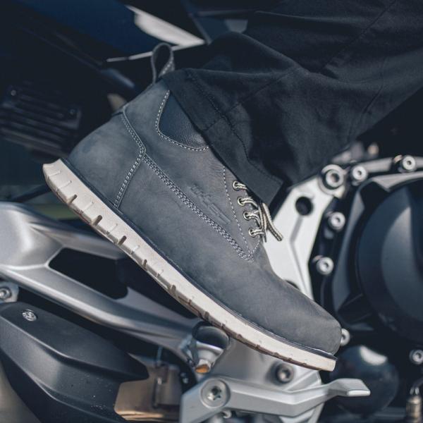 Ghete Moto W-Tec  Exetero Gri Albastrui [5]