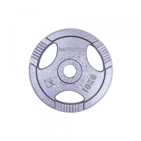 Greutate otel inSPORTline Hamerton 10 kg/ 30 mm [1]