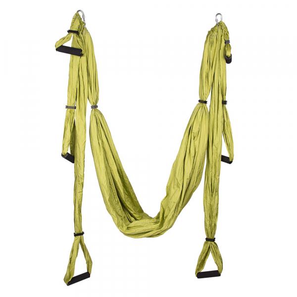 Hamac Aero Yoga inSPORTline Hemmok, verde [1]