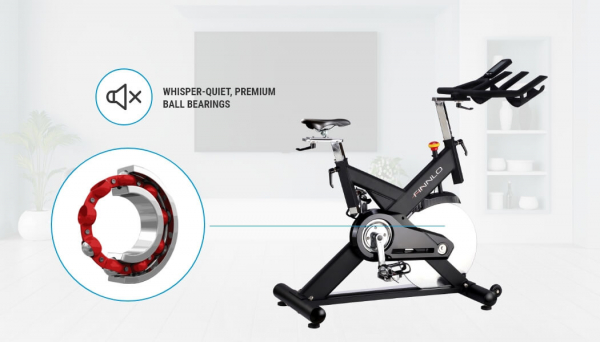 Bicicleta indoor cycling CRS3 Finnlo by Hammer 7