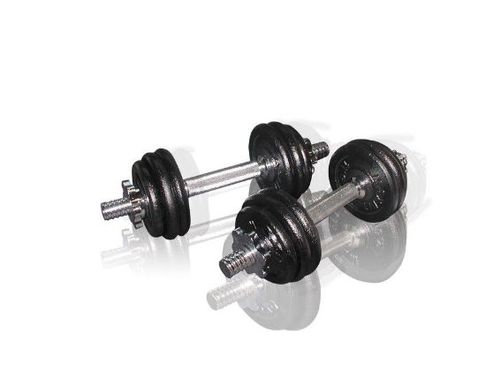 Set gantere reglabile 15 kg Toorx 0