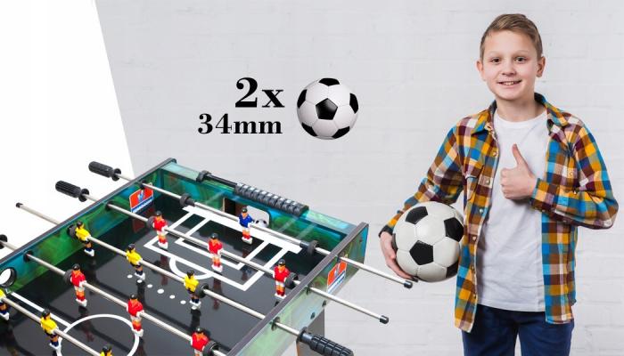 Masa de fotbal cu picioare B7E, 101x50 cm [7]