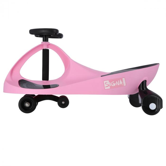Masinuta Balansoar Signa BC88, roz/negru [3]