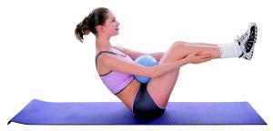 Minge aerobic inSPORTline 25 cm 1