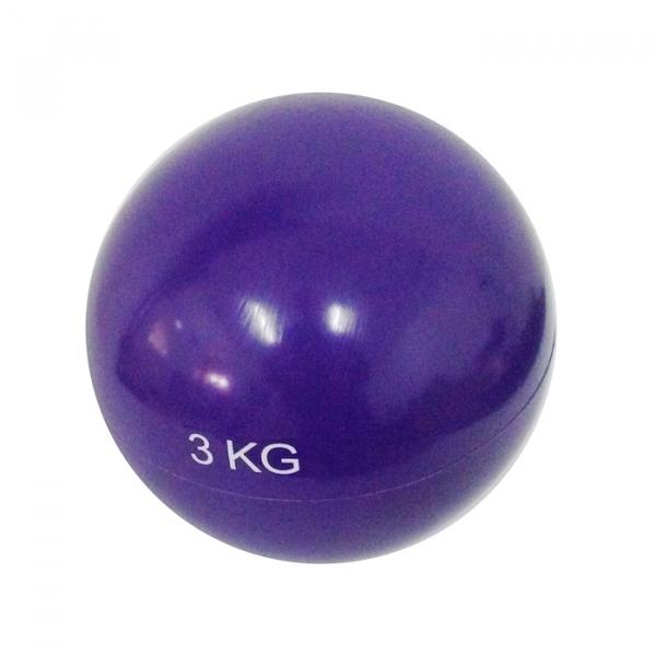 Minge yoga 3 kg albastru Dayu Fitness 0