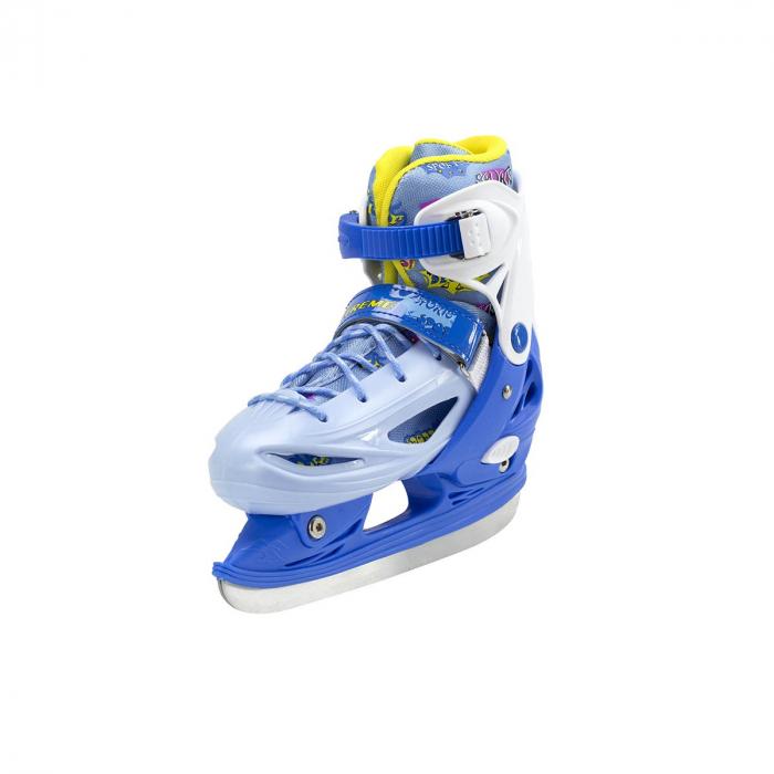 Nils Patine reglabile copii albastru NH1105A 1