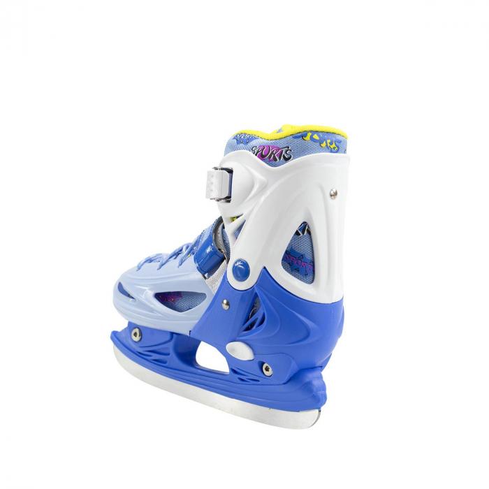 Nils Patine reglabile copii albastru NH1105A 3