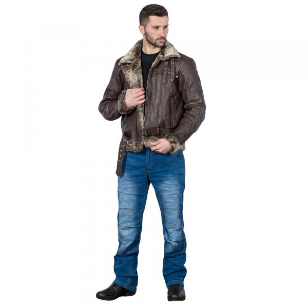 Pantaloni Moto Barbati Jeans W-TEC Davosh [4]