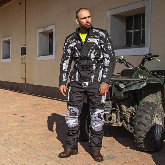 Pantaloni Moto Barbati W-TEC Kaamuf [0]