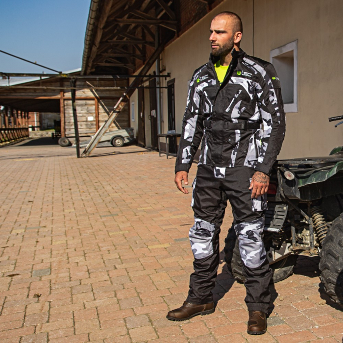 Pantaloni Moto Barbati W-TEC Kaamuf [1]