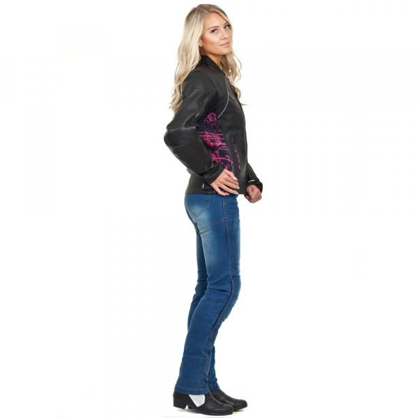 Pantaloni Moto Femei Jeans W-TEC Lustipa [3]