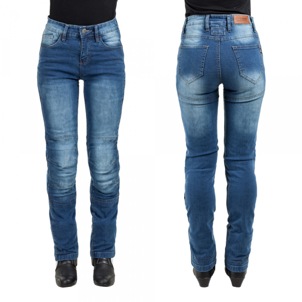 Pantaloni Moto Femei Jeans W-TEC Lustipa [0]