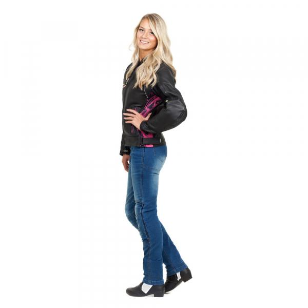 Pantaloni Moto Femei Jeans W-TEC Lustipa [4]