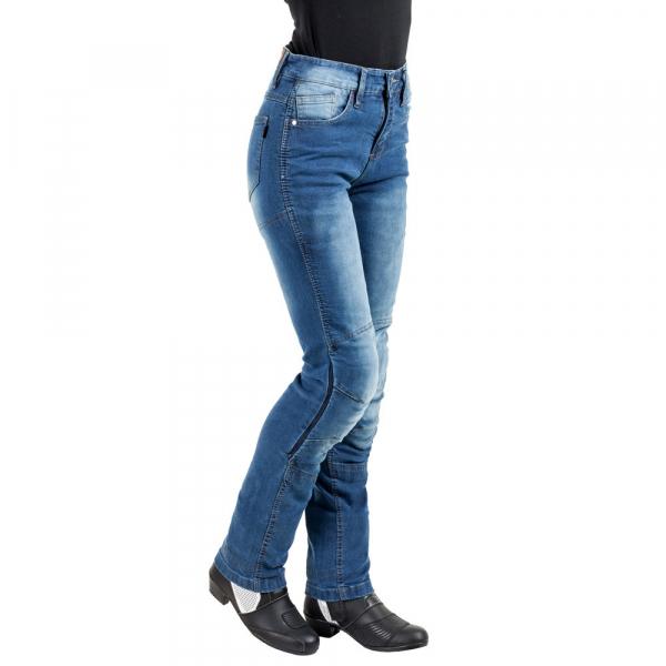 Pantaloni Moto Femei Jeans W-TEC Lustipa [1]