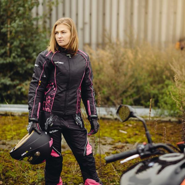 Pantaloni Moto Femei W-TEC Kaajla NF-2683 [7]