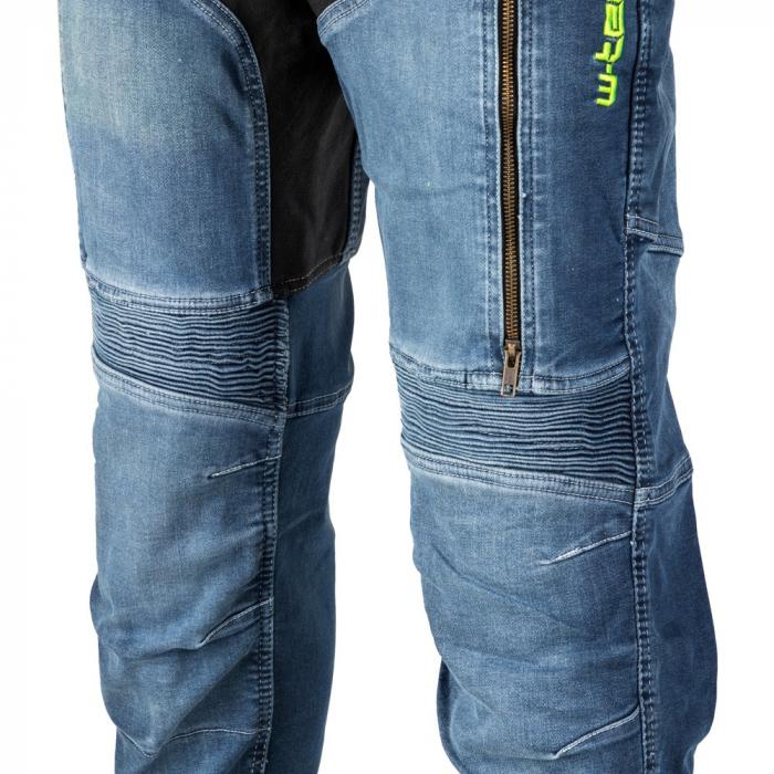 Pantaloni Moto Jeans Barbati W-TEC Grandus [8]