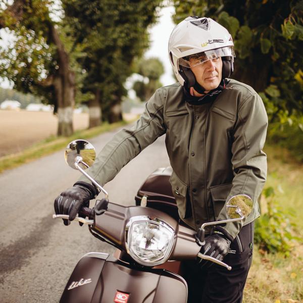 Pantaloni Moto Softshell Barbati W-TEC Guslic NF-2801 [9]