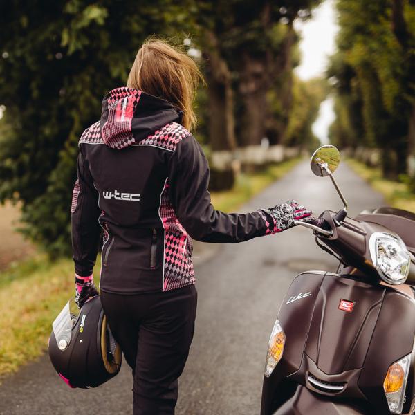 Pantaloni Moto Softshell Femei W-TEC Tabmara NF-2880 [9]