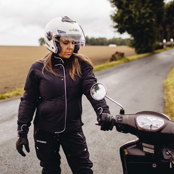 Pantaloni Moto Softshell Femei W-TEC Tabmara NF-2880 [6]