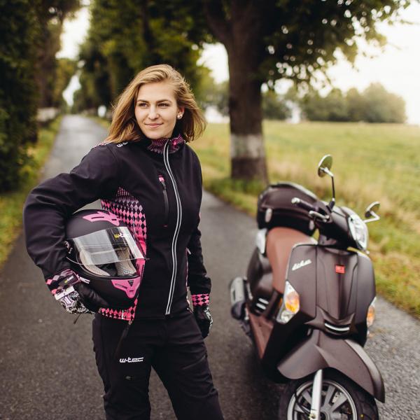 Pantaloni Moto Softshell Femei W-TEC Tabmara NF-2880 [10]