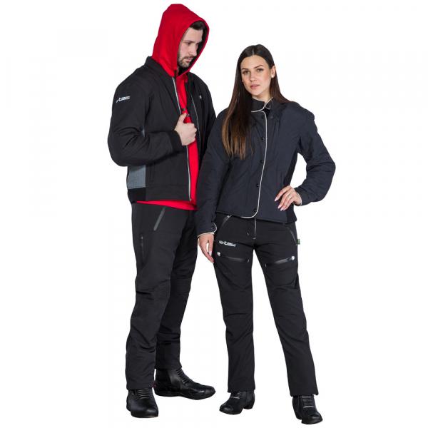 Pantaloni Moto Softshell Femei W-TEC Tabmara NF-2880 [16]