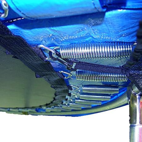 Protectie Arcuri pentru trambulina 457 cm - albastra 2