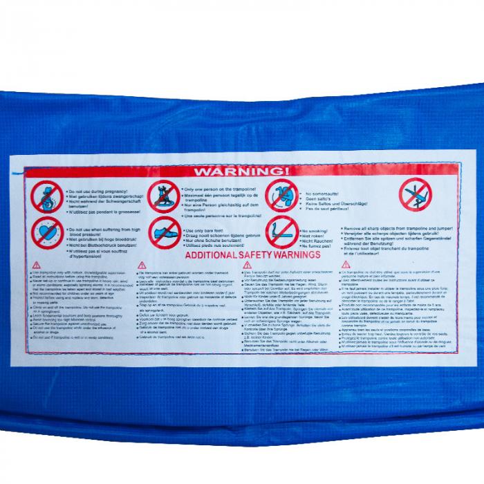 Protectie Arcuri pentru Trambulina Multicolor 366 cm L643 [1]