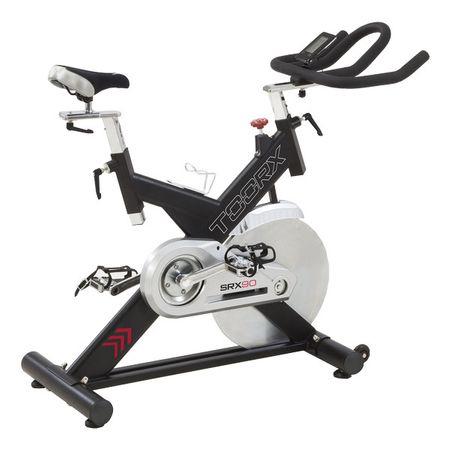 Bicicleta indoor cycling SRX-90 Toorx, volanta 24 kg 0
