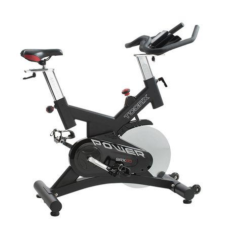 Bicicleta indoor cycling SRX-85, volanta 24 kg 0