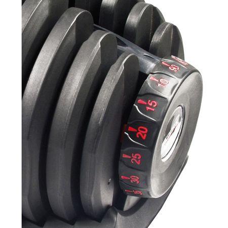 Gantera reglabila inovativa 24 kg Toorx 1