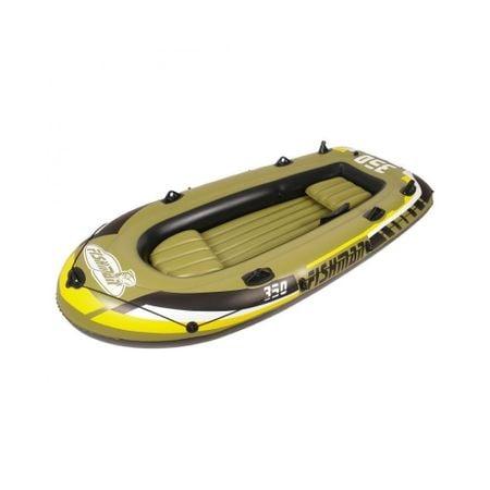 Barca gonflabila 350 Jilong Fishman, pompa inclusa, vasle incluse [3]