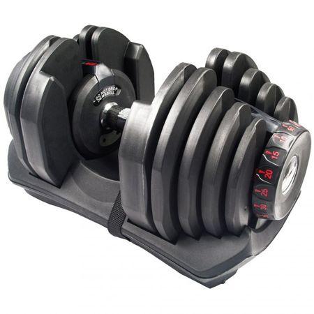 Gantera reglabila inovativa 24 kg Toorx 0