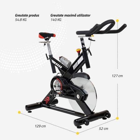 Bicicleta indoor cycling SBK400 Techfit 10