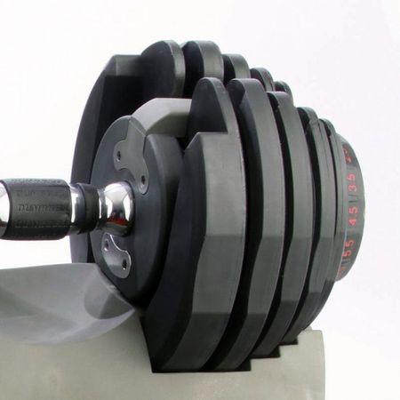 Gantera reglabila inovativa 24 kg Toorx 2