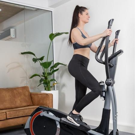 Bicicleta eliptica DCT2500I Flow Fitness 7