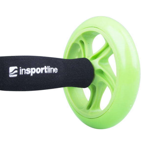 Roata exercitii inSPORTline Ab Roller Double 4