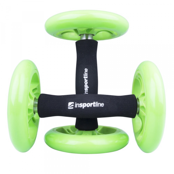Roata exercitii inSPORTline Ab Roller Double 1