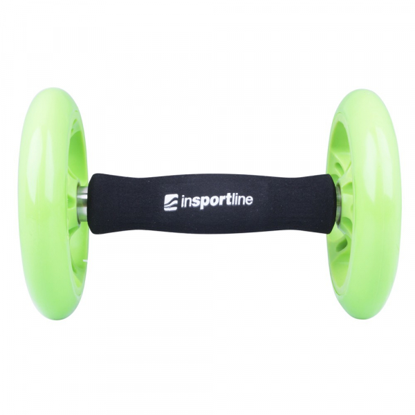 Roata exercitii inSPORTline Ab Roller Double 2