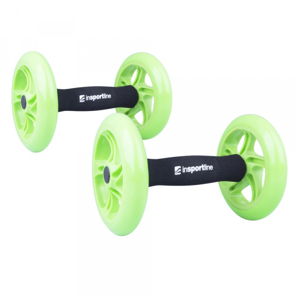 Roata exercitii inSPORTline Ab Roller Double 5